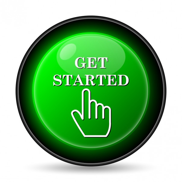 Get started button to purchase course.